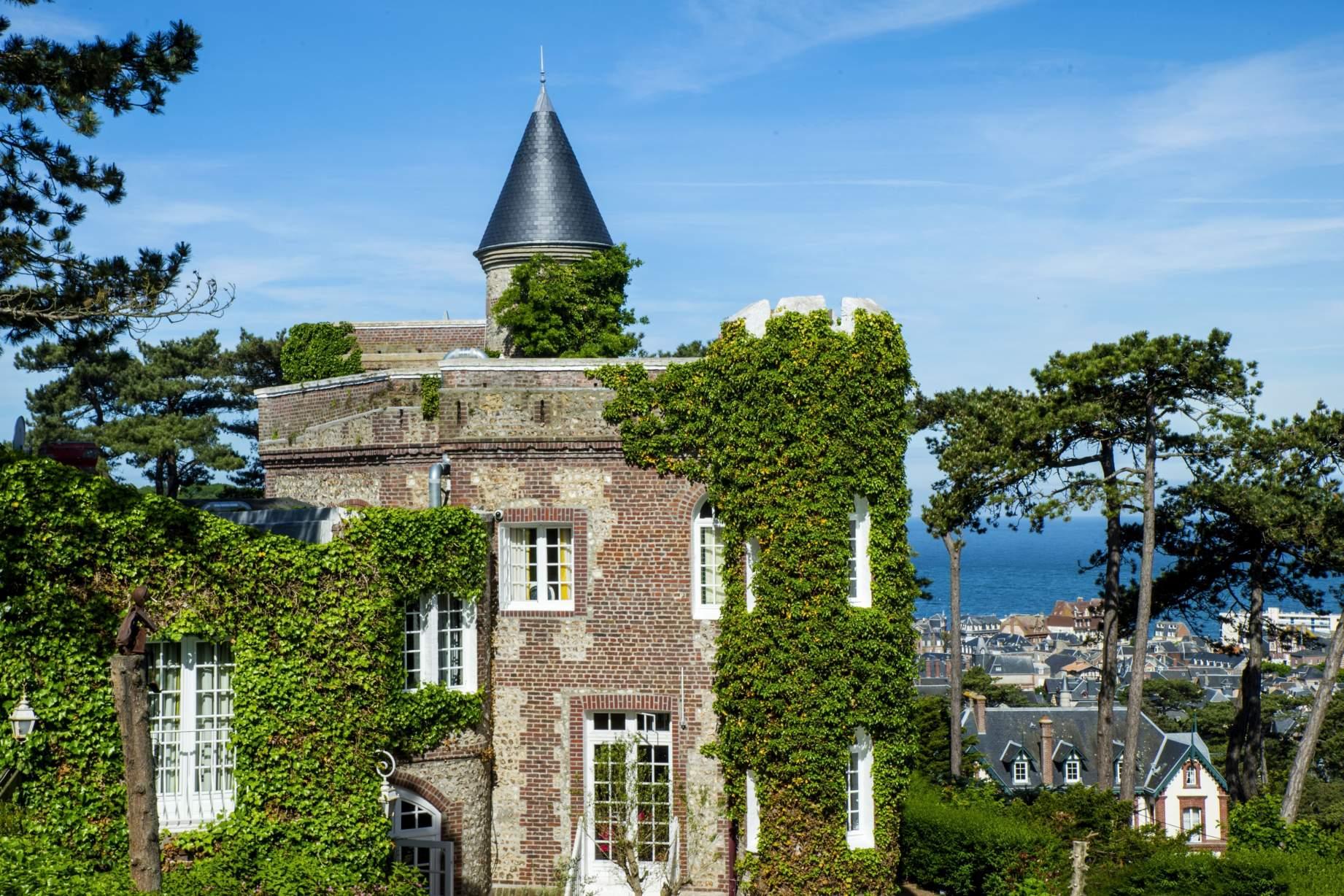 Golf-Expedition-Golf-Reizen-Frankrijk-Regio-Normandië-Domaine-Saint-Clair-kasteel-groen
