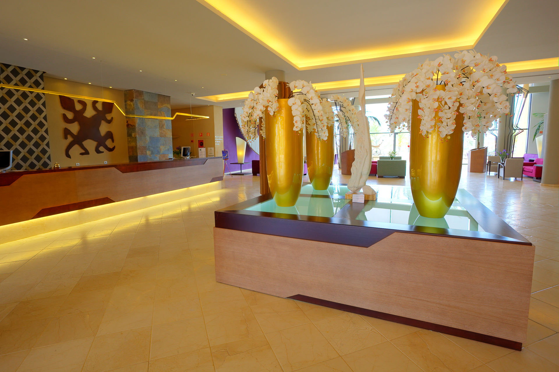 Golf-Expedition-Golf-reizen-Spanje-Regio-Valencia-Valle-Del-este-Golf-resort-lobby