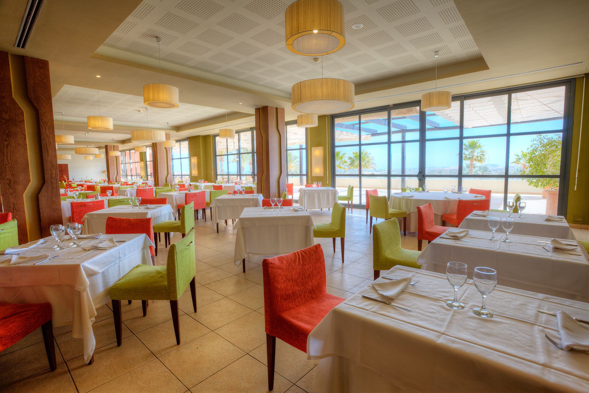Golf-Expedition-Golf-reizen-Spanje-Regio-Valencia-Valle-Del-este-Golf-resort-restaurant-buffet