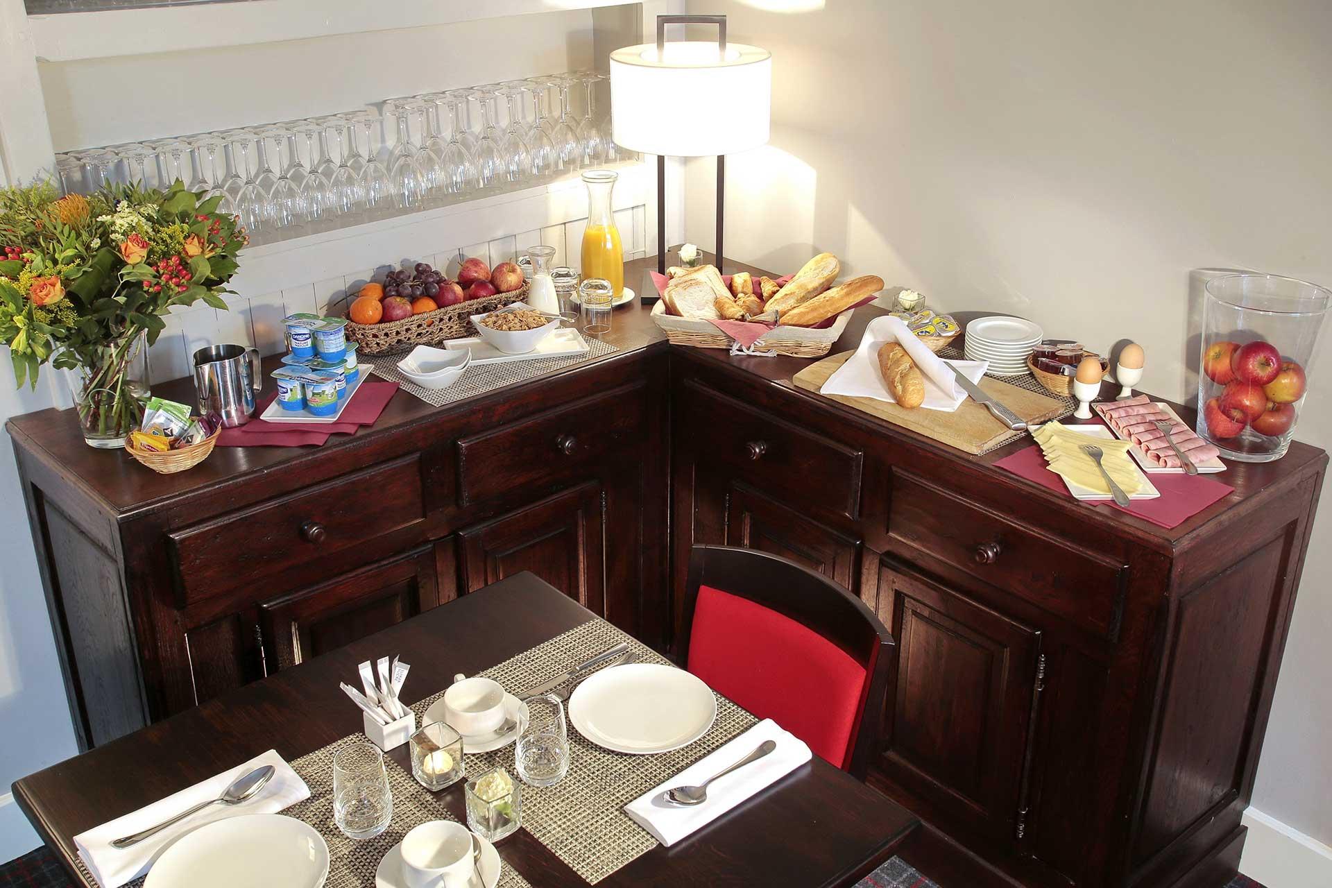 Golfexpedition-Golfreizen-België-Brussel-Pierpont-hotel-breakfast