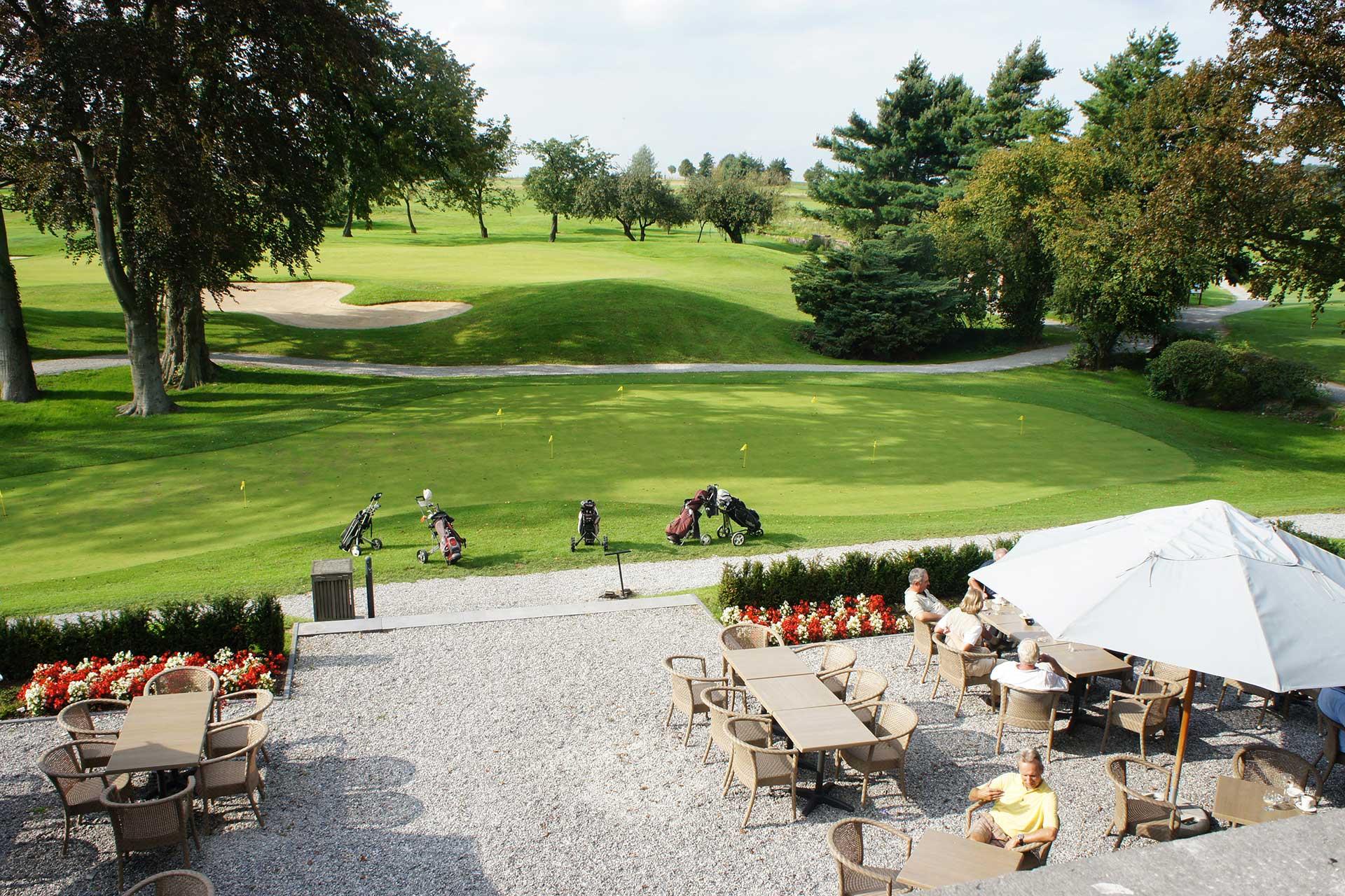 Golfexpedition-golfreizen-België-Brussel-Pierpont-club-house-terrace