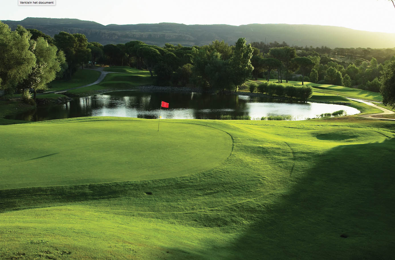 golf-expedition-golf-reizen-frankrijk-regio-cote-d'azur-Les-Domaines-de-Saint-Endréol-Golf-en-Spa-Resort-golfbaan-green