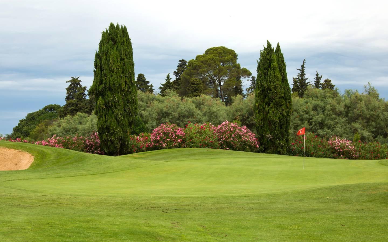 golf-expedition-golf-reizen-frankrijk-regio-languedoc-roussillon-domaine-de-verchant-golfbaan-green